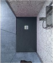 Piatto doccia 80x90 cm altezza 2.5 cm resina