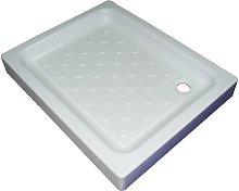 Piatto doccia 90x72 in acrilico con sifone di