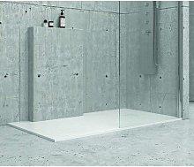 Piatto doccia 90x90 cm effetto pietra artificiale
