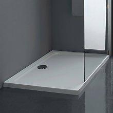 Piatto Doccia acrilico TORINO 140X80 cm alto 4,5