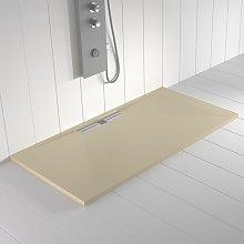 Piatto doccia ardesia pietra WIDE Crema - 210x80 cm