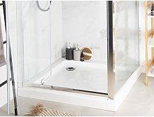Piatto doccia bianco 80 x 80 x 7 cm ESTELI
