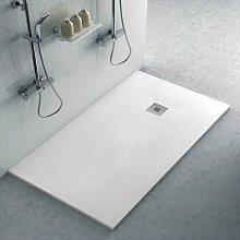 Piatto doccia filo pavimento 70x140 in resina