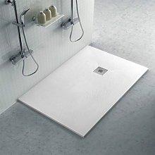 Piatto doccia filo pavimento 80x110 in resina