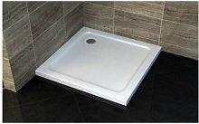Piatto doccia quadrato ultra slim h.5 cm acrilico