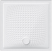 Piatto doccia Relax in ceramica 80x80 h3 quadrato