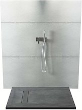 Piatto doccia rettangolare in texolid 100x200 cm -
