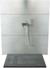 Piatto doccia rettangolare in texolid 80x120 cm -