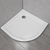 Piatto Doccia Semicircolare 90x90 Cm In Resina