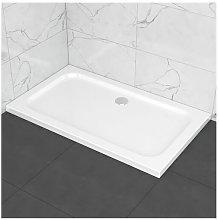 Piatto doccia slim in ABS 70x120, effetto