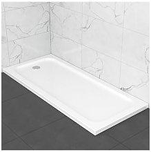 Piatto doccia slim in ABS 70x160, effetto