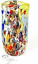 Piatto - Vaso in Vetro Originale di Murano