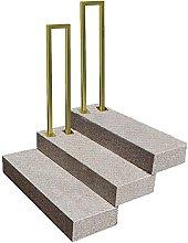 Picchetto per corrimano dorato per scale esterne