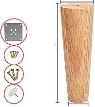 Piedini del tavolo per mobili in legno massello