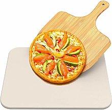 Pietra per pizza, Rettangolare Cordierite 38x30cm