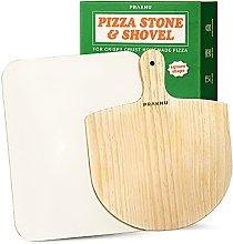 Pietra Refrattaria Rettangolare e Pala per Pizza
