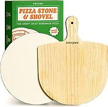 Pietra Refrattaria Rotonda e Pala per Pizza in