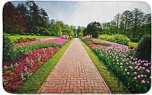 Pink Path Longwood Gardens Purple Flower