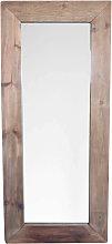 PINUS - specchio con cornice in pino riciclato