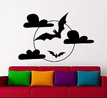 Pipistrello Volante Decalcomania Del Vinile