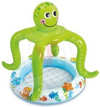 Piscina gioco gonfiabile baby octopus per bambini
