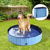 Piscina Pieghevole Per Cani In Pvc Azzurro