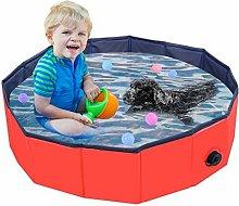 Piscina pieghevole per cani, piscina per animali