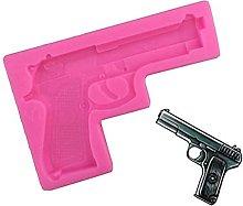 Pistola di pistola 3D Silicone torta decorazione