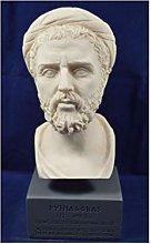 Pitagora scultura di Samos antico matematico greco