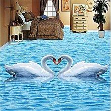 pittura blu acqua increspature cigno impermeabile