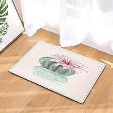 Pittura. Cactus. Tappetino Da Bagno: 40X60 Cm.