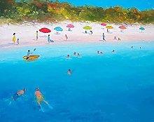 pittura con numeri Località balneare per adulti