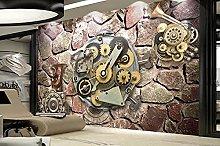 Pittura decorativa industriale 3d wall gear