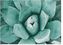 Pittura Di Piante Succulente Puzzle In Legno