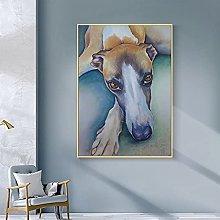 Pittura diamante 5D-DIY Immagini di animali cane