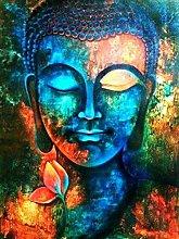 Pittura Diamante Kit Buddha colorato Pittura