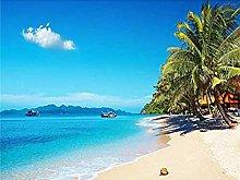 Pittura Diamanti 5D Vista sulla Spiaggia Kit per