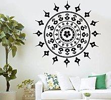 Pittura Mandala Yoga Decalcomania Adesivo Murale