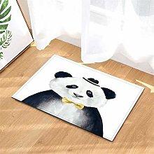 Pittura. Panda. Tappetino Da Bagno: 40X60 Cm.