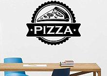 Pizza a muro Decalcomania Pizzeria Adesivo per