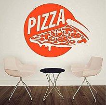 Pizza Adesivo Cibo Decalcomania Vinile Arte