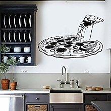 Pizza Adesivo Murale Vinile Decorazioni Per La