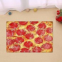 Pizza Food Pattern Indoor antiscivolo porta