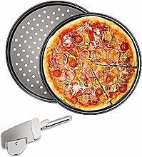 Pizza Rotonde Forate Antiaderenti, Stampo Pizza