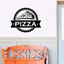 Pizza Shop Logo Adesivo Da Parete Fast Food