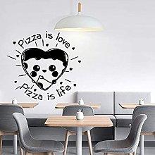 Pizza Wall Decal Cucina Decorazione Cafe Pizzeria