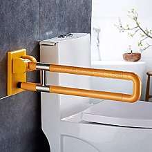 Pkfinrd acciaio inox pieghevole WC Grab Bar Rail