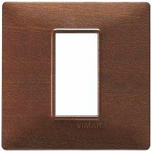 Placca 1M makorè scatola rotonda Plana 14641.33 -