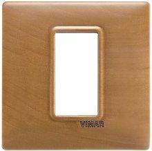 Placca 1M pero per scatola rotonda Plana 14641.62