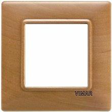Placca 2M pero per scatola rotonda Plana 14642.62